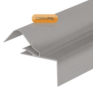 Corrapol Rigid Rock n Lock Side Flashing 6m Mill