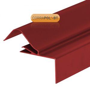 Corrapol-BT Rigid Rock n Lock Side Flashing 6m Red