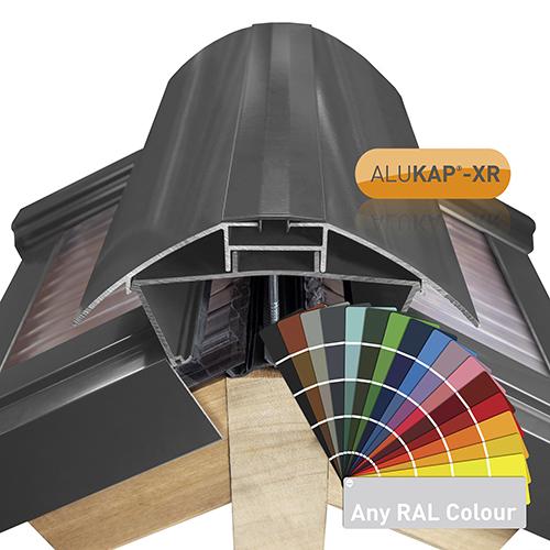 Alukap-XR Ridge Channel Snap Cover 6m PC Image 2